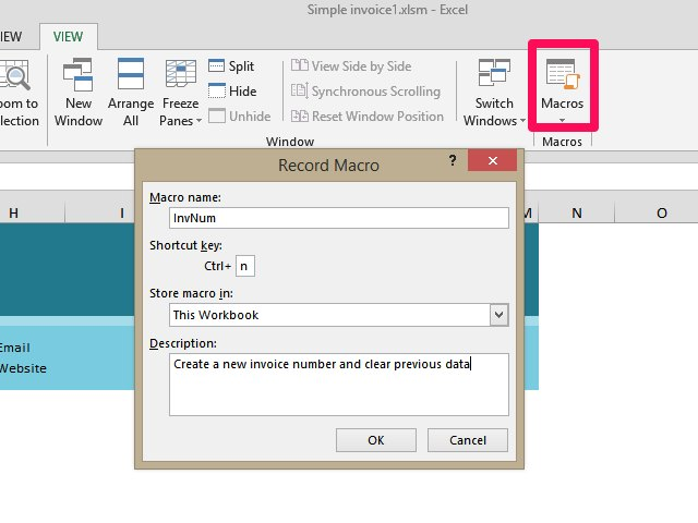 creating an invoice in excel