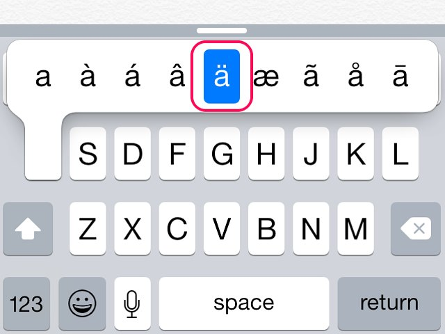 How To Type Umlaut Letters On An Iphone Techwalla