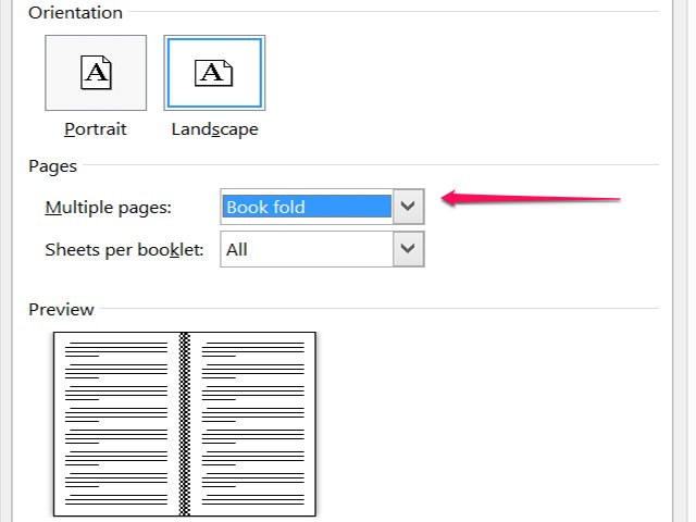 How to Create a Booklet in Microsoft Word | Techwalla.com