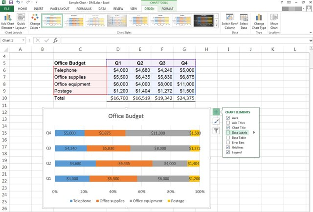 how do you make a graph on excel