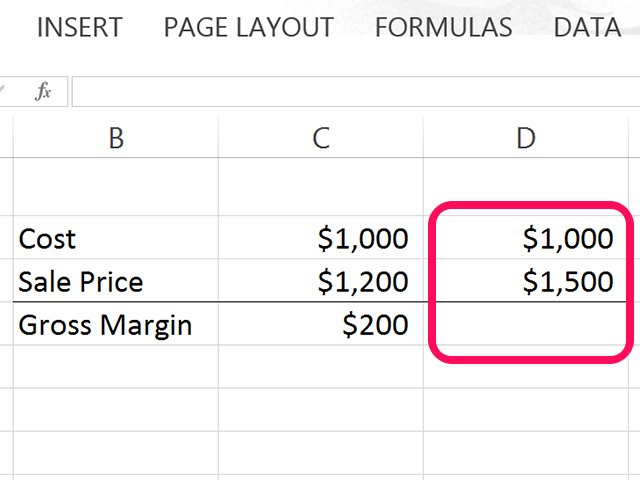 Calculate Margin