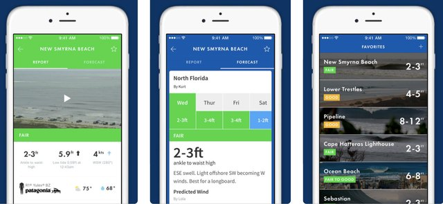 This Marine Weather App Is a Surfer's Dream Come True | Techwalla com