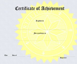 how to make certificates on word