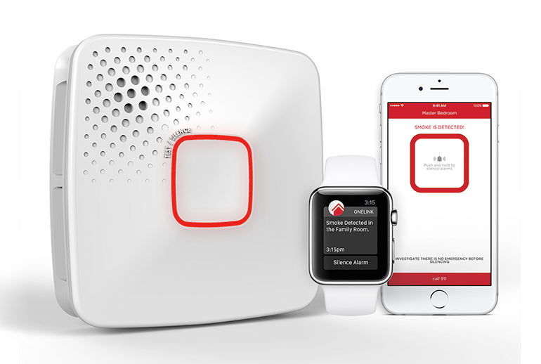 Onelink Wi-Fi Smoke and Carbon Monoxide Alarm