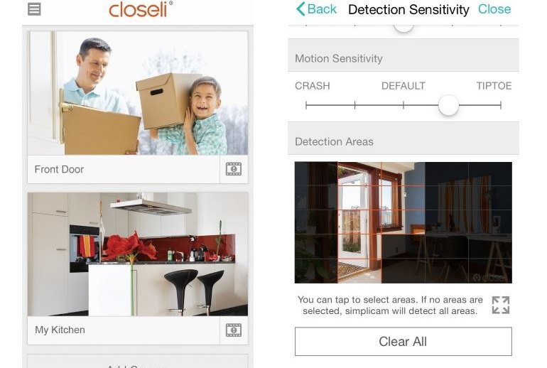 Simplicam powered by Closeli