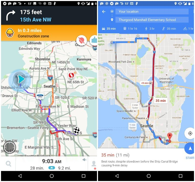 I Put Waze And Google Maps To The Test On My Commute Techwalla Com