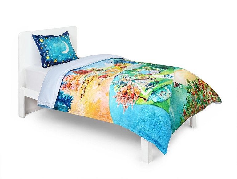 Spin Tales Red Riding Hood bedding