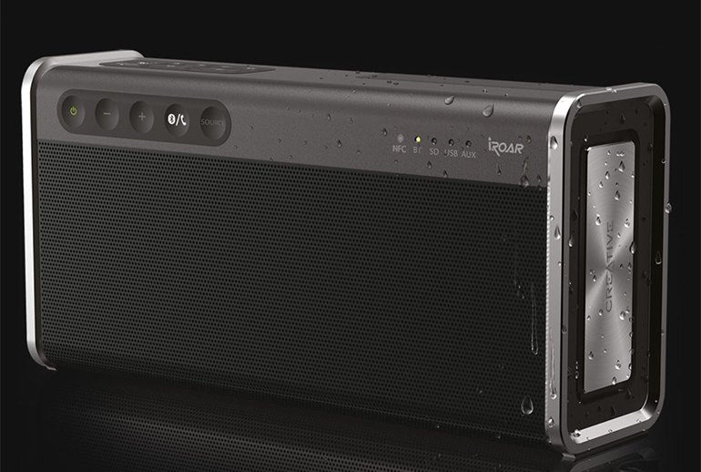 a Hands-On with the Creative iRoar Go: Portable Speaker Perfected