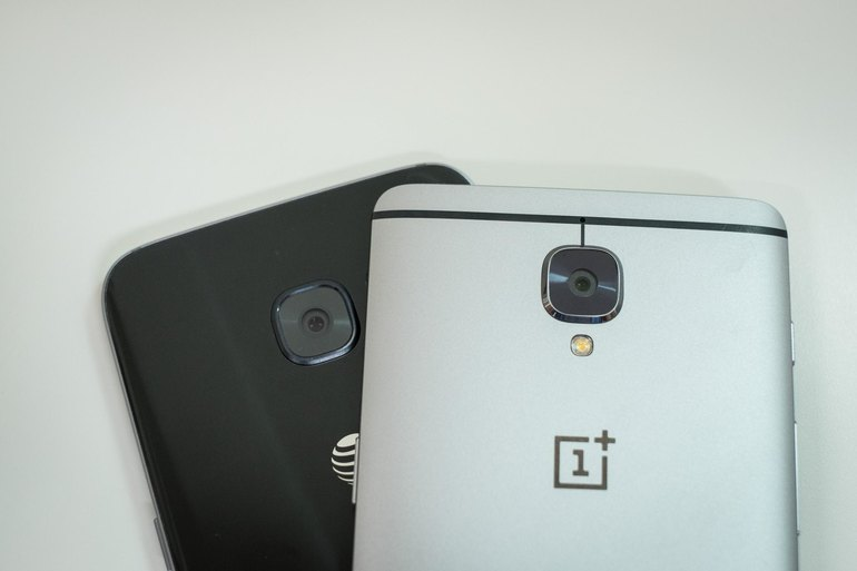 a OnePlus 3 vs Samsung Galaxy S7 Edge